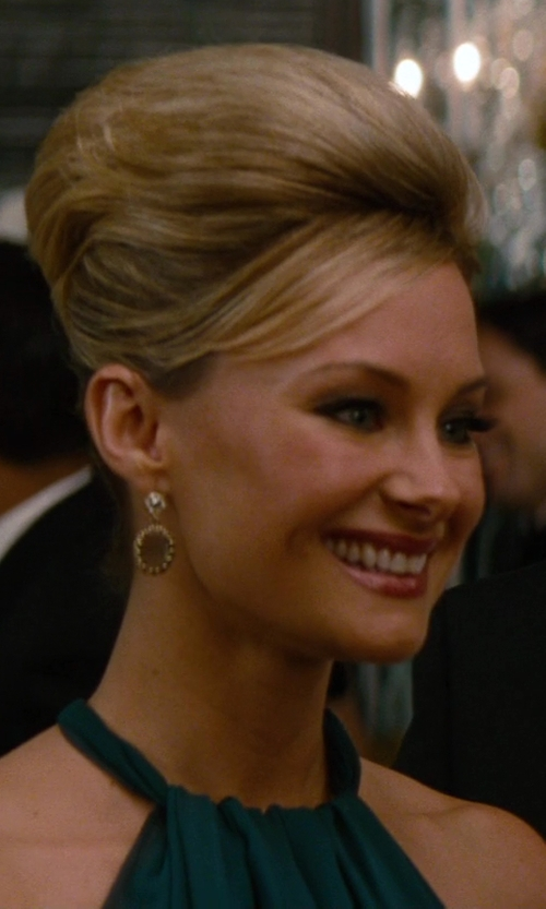 Alyshia Ochse with Mija Smoky Topaz & Pavé White Sapphire Drop Earrings in The Other Woman