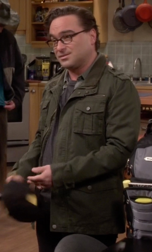 Johnny Galecki with Topman M-65 Field Jacket in The Big Bang Theory