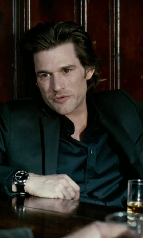 Johnny Whitworth with Dolce & Gabbana Solid Dress Shirt in Limitless