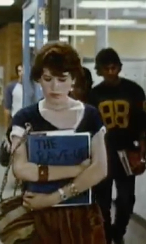 Molly Ringwald with The Sak Portola Hobo Bag in Sixteen Candles
