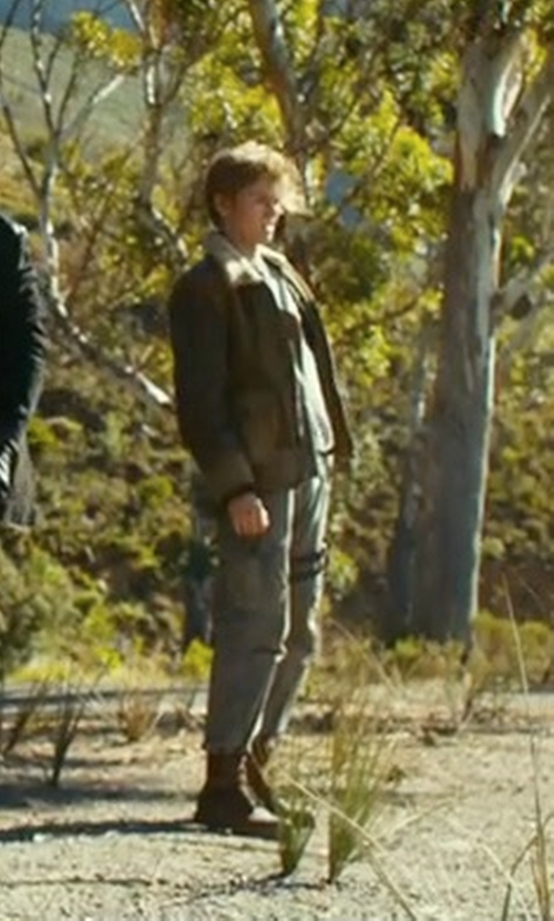 Thomas Brodie-Sangster with Palladium Pallabrouse CML Boots in Maze Runner: The Death Cure
