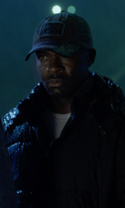 David Oyelowo with Carhartt WIP Logo Starter Cap in Captive