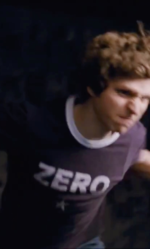 Michael Cera with Smashing Pumpkins Classic Zero T-Shirt in Scott Pilgrim Vs. The World