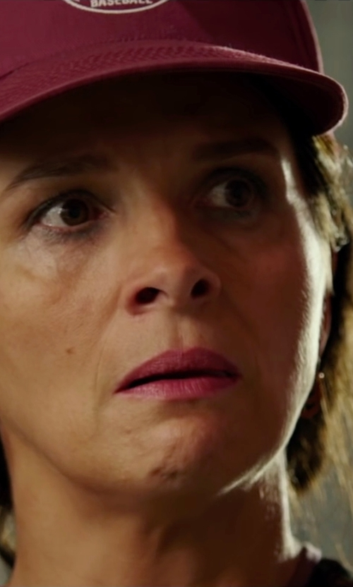 Juliette Binoche with 47 Brand Fitted Franchise Hat in The 33