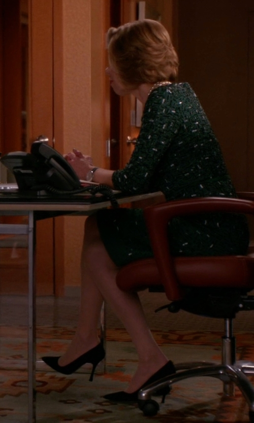 Christine Baranski with L'Autre Chose Pointed Toe Pumps in The Good Wife