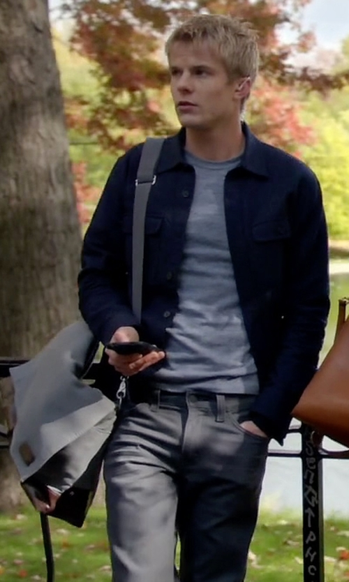 Graham Rogers with Grayers 'Newport' Slim Fit Washed Cotton Twill Chinos in Quantico