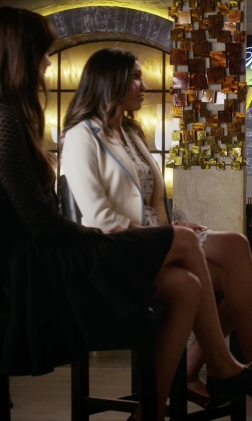 Troian Bellisario with Chloé Patent Heel Oxford Shoes in Pretty Little Liars