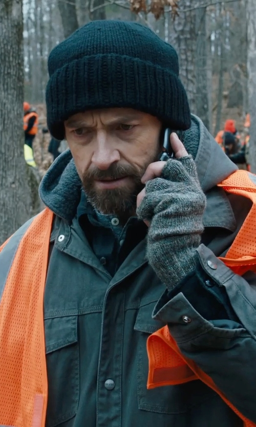 Hugh Jackman with Volcom Full Stone Beanie in Prisoners