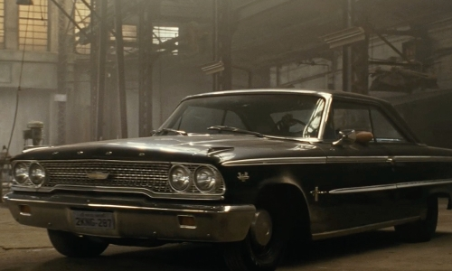 Ludacris with Ford 1963 Galaxie 500XL Convertible in Fast Five