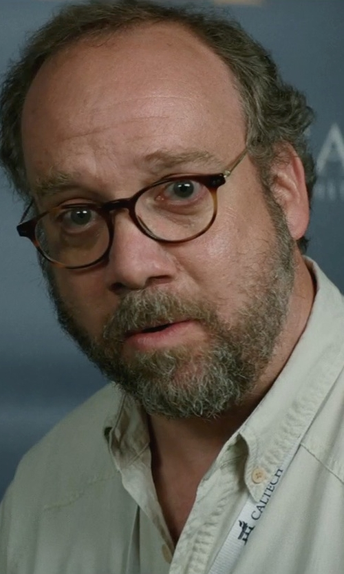 Paul Giamatti with Oliver Peoples Sir Finley Optical Glasses in San Andreas