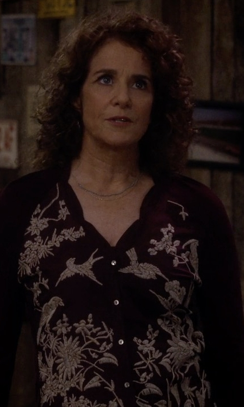 Debra Winger with Tularosa Therone Tunic Top in The Ranch
