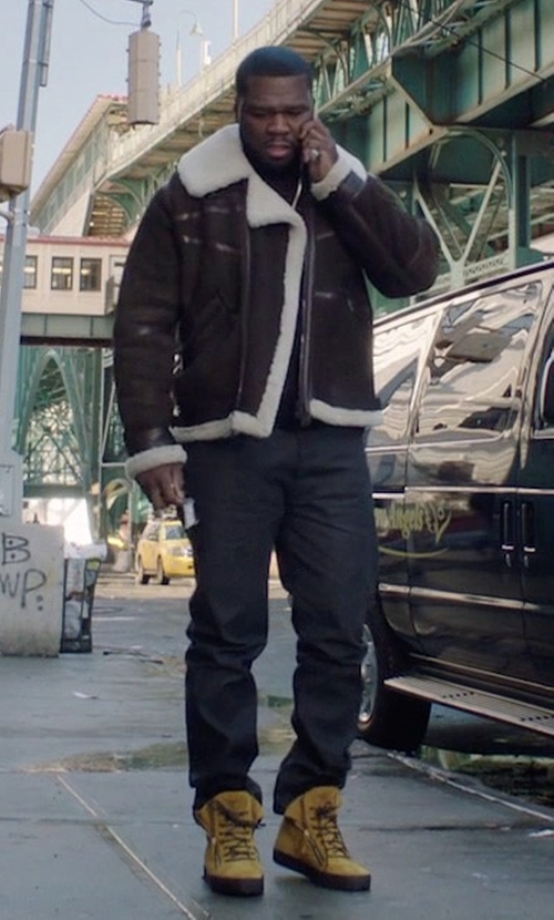 50 Cent with Levi's Premium 501 CT Jeans in Power