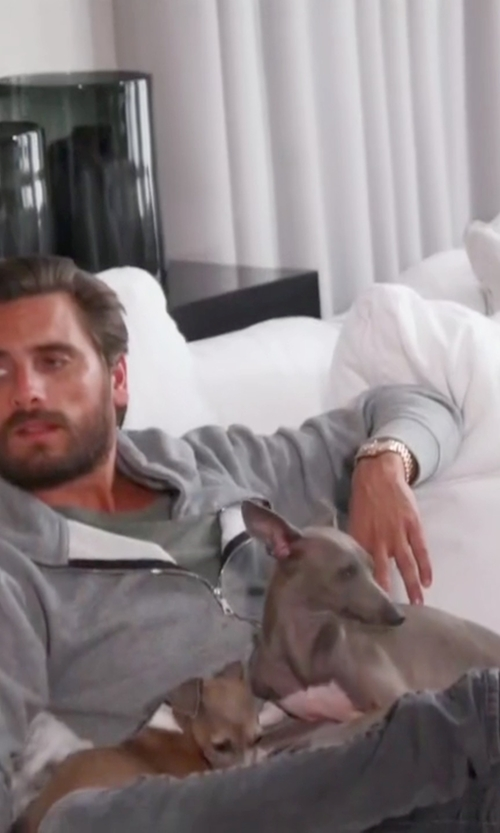 Scott Disick with A.P.C. Ted Slip-On Sneakers in Keeping Up With The Kardashians