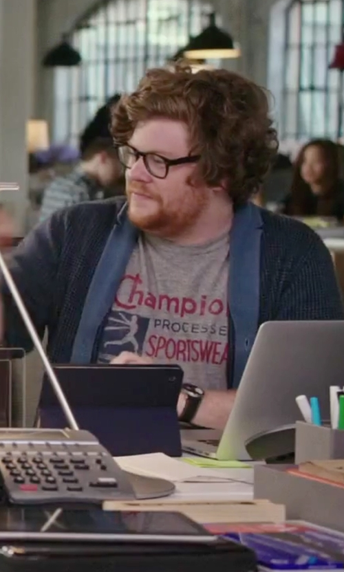Zack Pearlman with Brera Militare II Round Chronograph Watch in The Intern