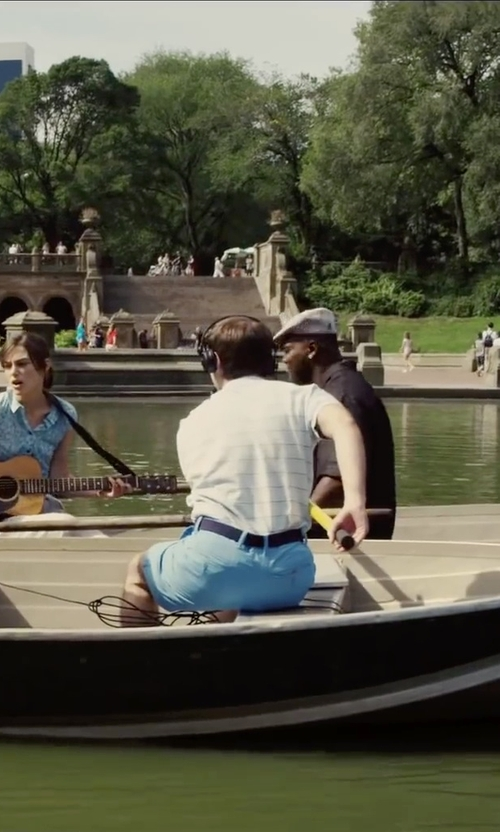 Ian Brodsky with Michael Kors Metal Plaque Belt in Begin Again
