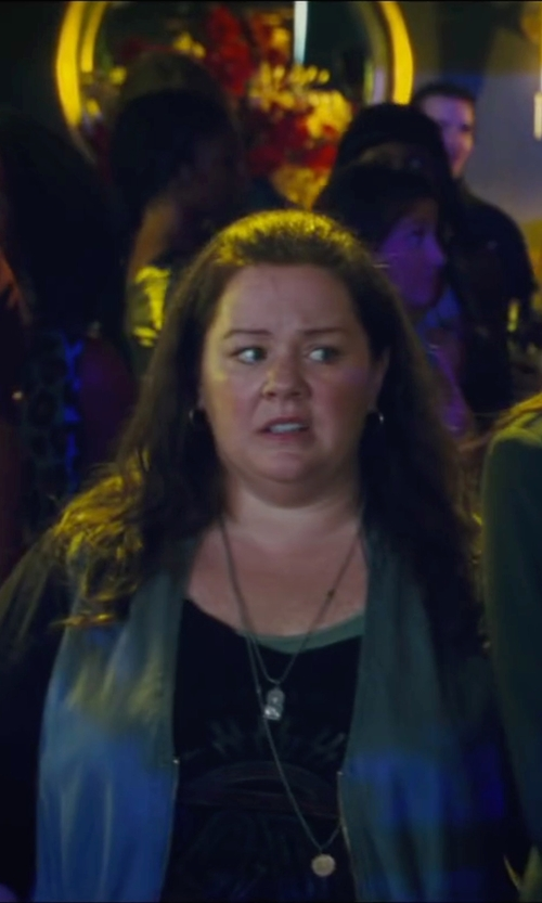 Melissa McCarthy with Surface To Air Printed T-Shirt in The Heat