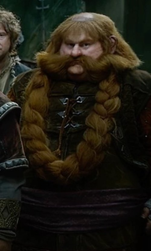 Stephen Hunter with Ann Maskrey (Costume Designer) Custom Design Bombur Costume in The Hobbit: The Battle of The Five Armies