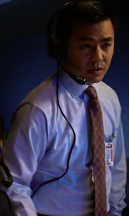 Han Soto with Boss Hugo Boss Windowpane Check Dress Shirt in Need for Speed