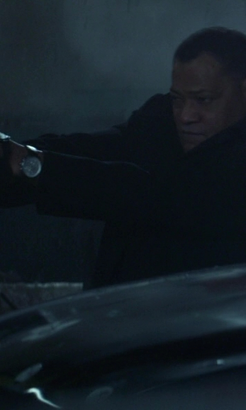 No Actor with Marc by Marc Jacobs 'Danny' Round Leather Strap Watch in Ride Along