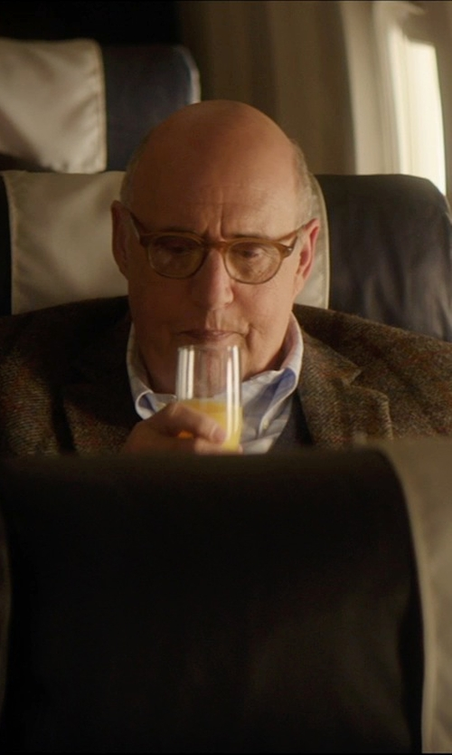 Jeffrey Tambor with S/4 Sarah Champagne Flutes in The D Train