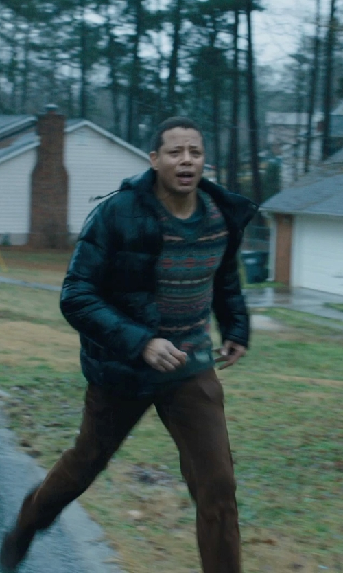 Terrence Howard  with Charles River Apparel Men's New Englander Waterproof Rain Jacket in Prisoners