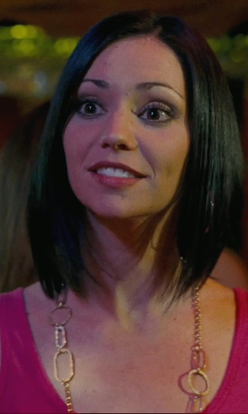 Shannon Leade with The Limited Long Loops Necklace in Hall Pass