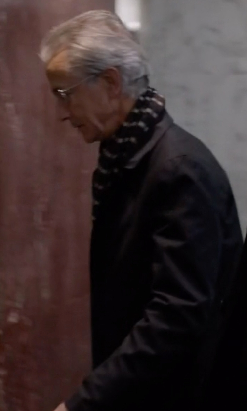 David Strathairn with Michael Kors  Trim Fit Waterproof Overcoat in The Blacklist