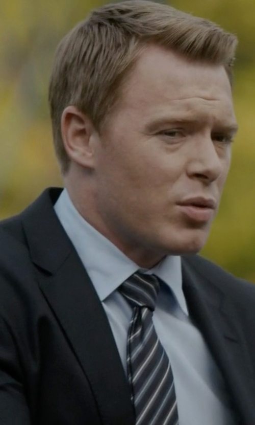 Diego Klattenhoff with Rosi & Ghezzi Stripe Tie in The Blacklist