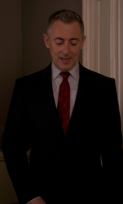 Alan Cumming with Emporio Armani Two Piece Suit in The Good Wife
