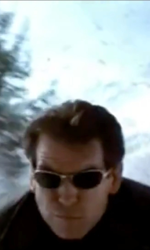 Pierce Brosnan with Calvin Klein 2007 Sunglasses in The World is Not Enough