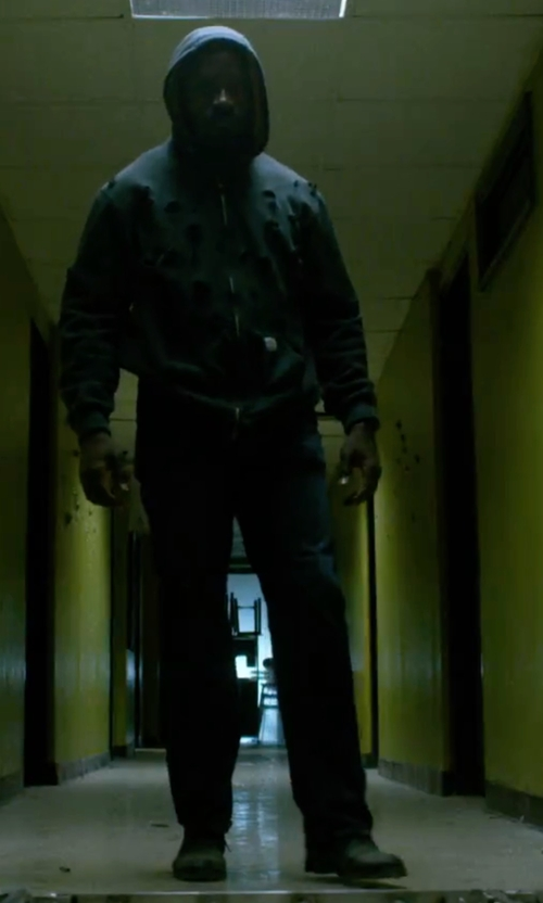 Mike Colter with Timberland Smooth Boots in Marvel's Luke Cage