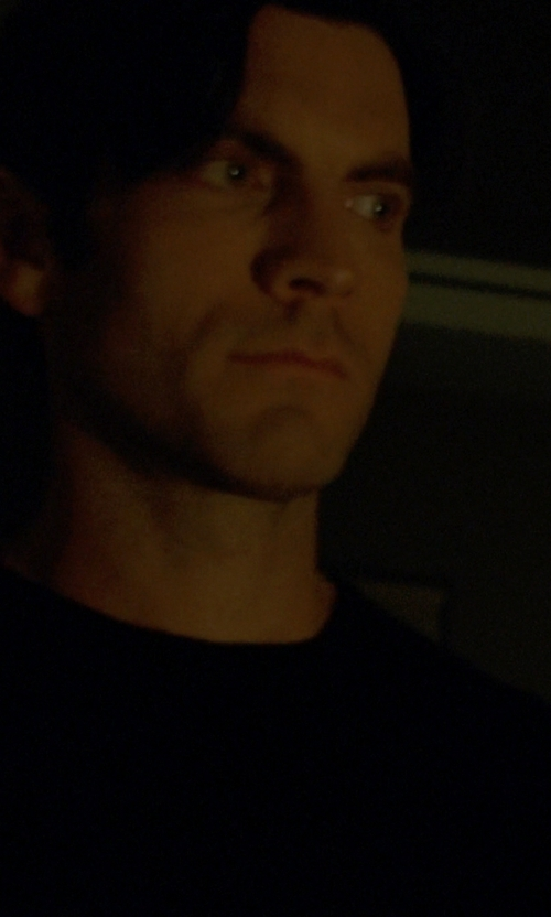 Wes Bentley with T by Alexander Wang Classic Short Sleeve Tee in American Horror Story