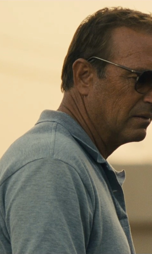 Kevin Costner with Nordstrom Regular Fit Piqué Polo in McFarland, USA