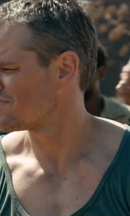 Matt Damon with Our Legacy Singlet Tank Top in Jason Bourne