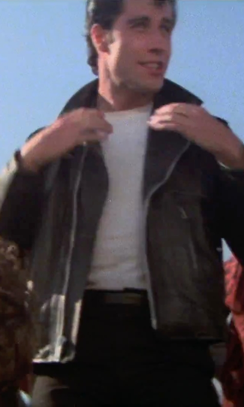 John Travolta with ASOS Super Skinny Jeans in Grease