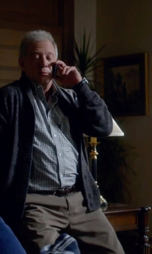 Jeff Perry with Brunello Cucinelli Classic Belt in Scandal