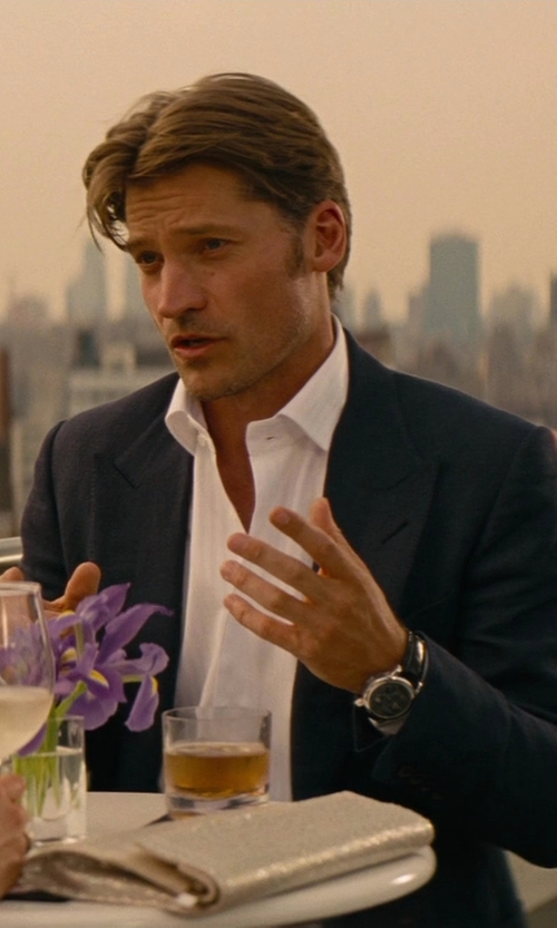 Nikolaj Coster-Waldau with Tag Heuer Men's Carrera Automatic Watch in The Other Woman