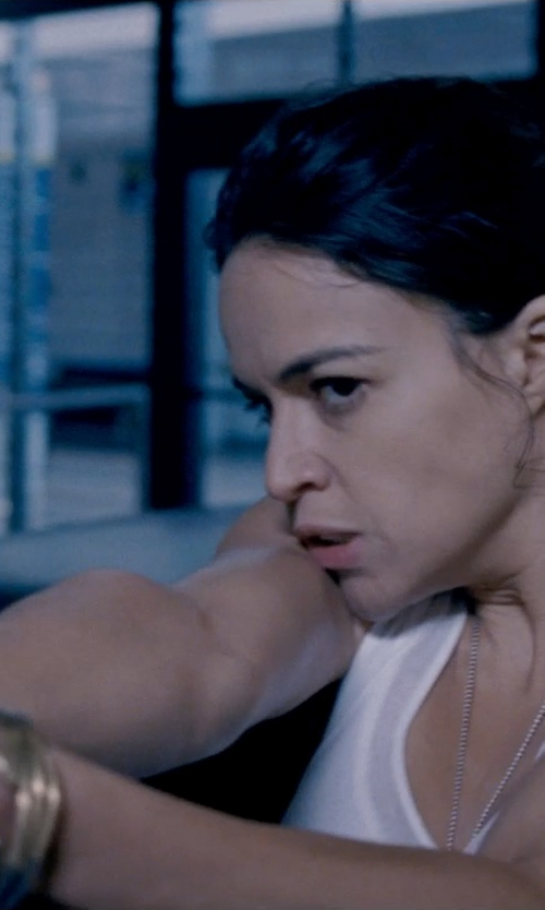 Michelle Rodriguez with Anna Beck Timor Stacking Skinny Bangles in Fast & Furious 6