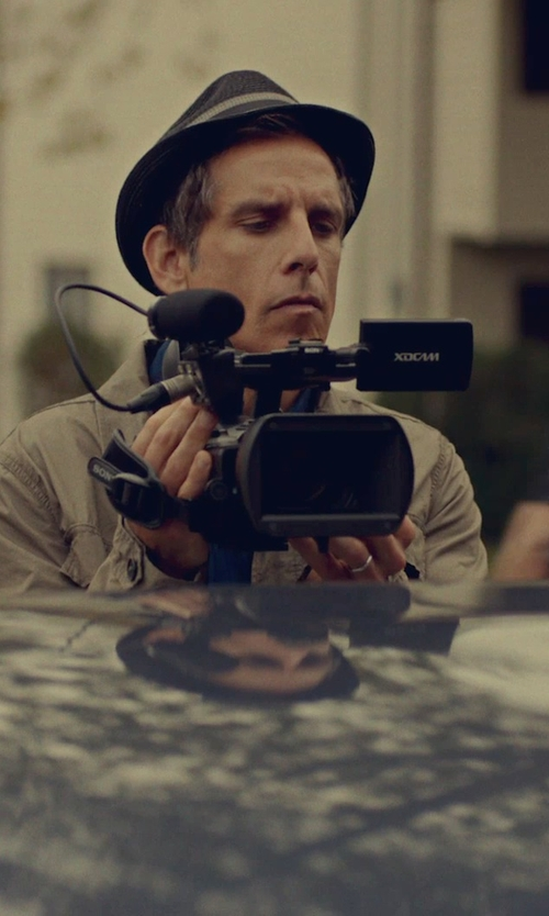 Ben Stiller with Sony XDCAM XAVC HD422 Hand-Held Camcorder in While We're Young