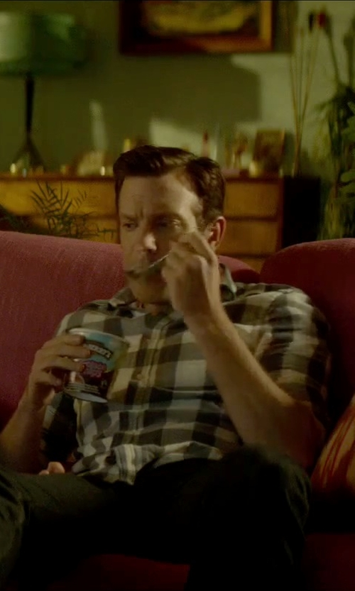 Jason Sudeikis with Ben & Jerry's Chocolate Therapy Ice Cream in Sleeping with Other People