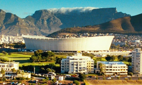 Unknown Actor with Cape Town Stadium Cape Town, South Africa in Safe House