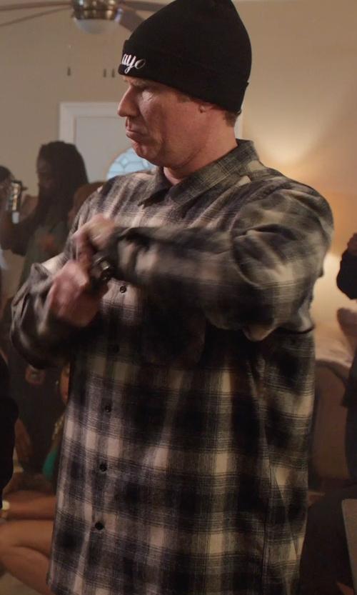 Will Ferrell with Carhartt Men's Trumbull Plaid Shirt in Get Hard