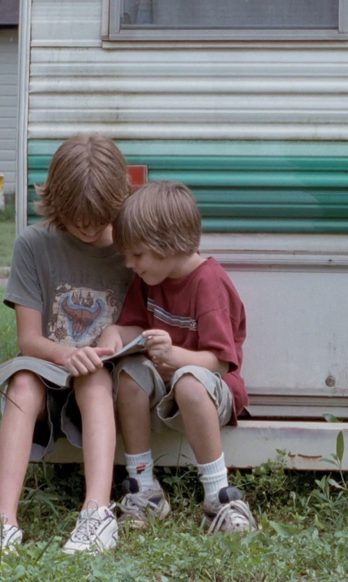 Ellar Coltrane with Vans Boys Shorts in Boyhood