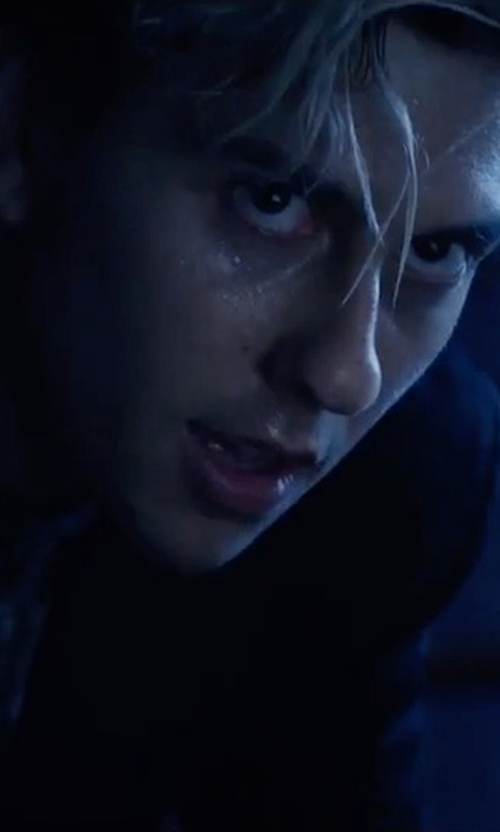 Nat Wolff with Theory Wellar New Tailor Blazer in Death Note