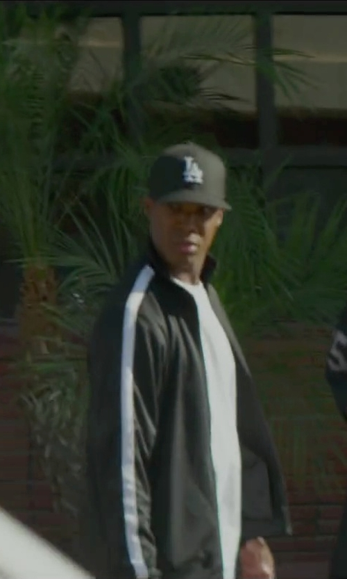 Corey Hawkins with New Era Los Angeles Dodgers Cap in Straight Outta Compton