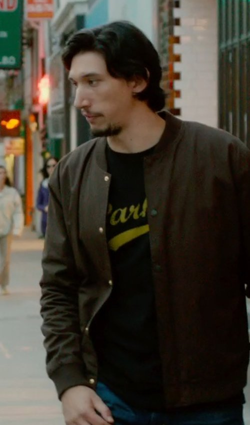 Adam Driver with Idakoos Parkour Grandma Men T-Shirt in What If