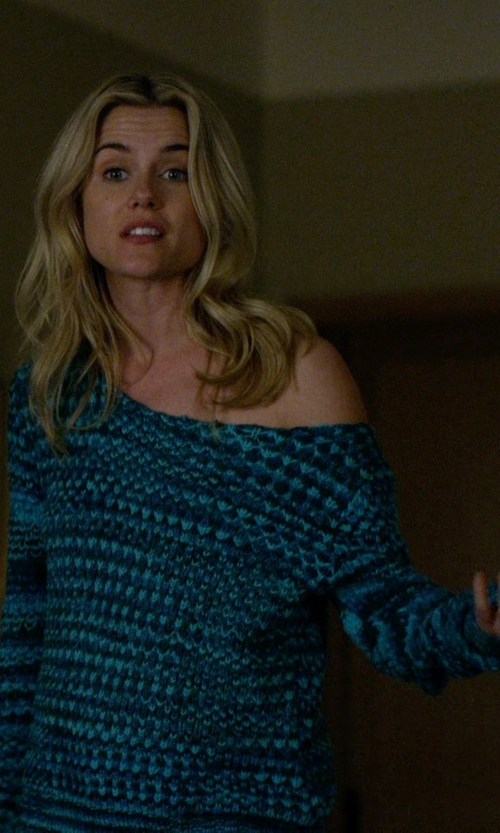 Rachael Taylor with Roberto Collina Knit Sweater in Jessica Jones