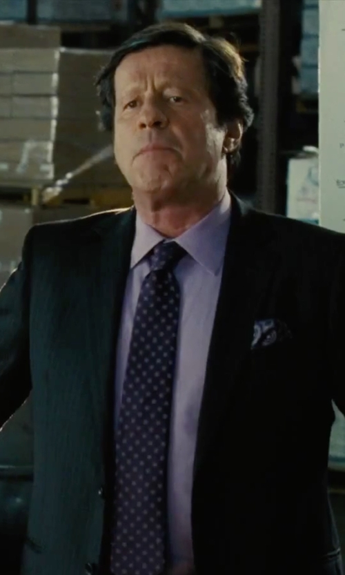 Joaquim de Almeida with J.Z. Richards Silk Pocket Square in Our Brand Is Crisis