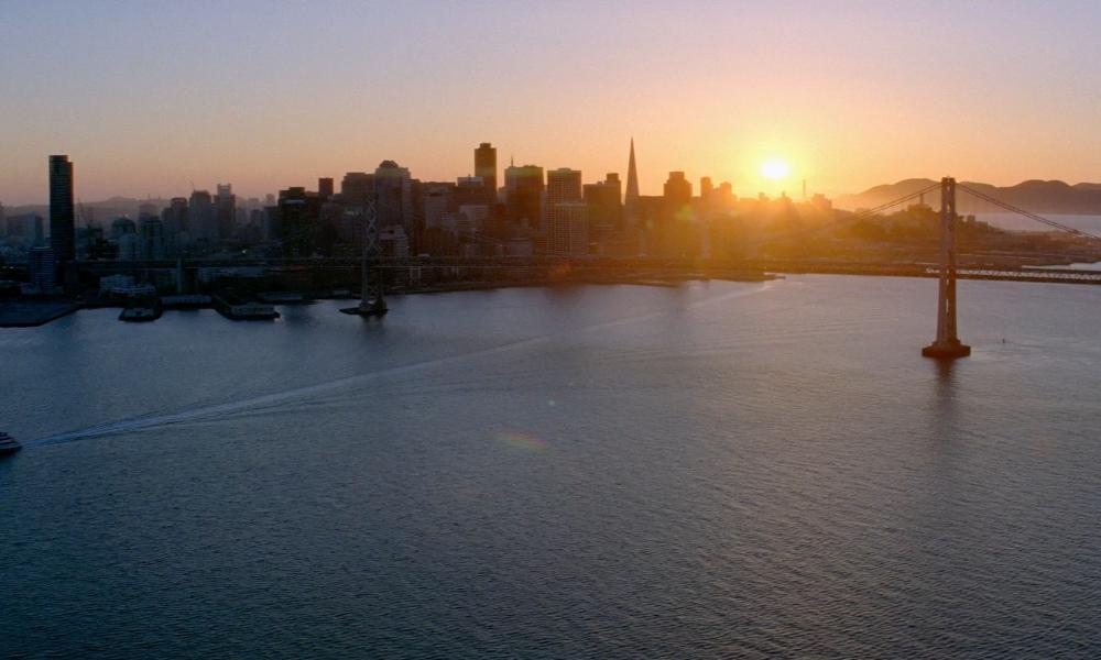 San Francisco California, USA in Transcendence