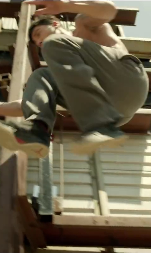 David Belle with Under Armour Storm Transit Pants in Brick Mansions